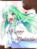 バレンタインなので早苗さんから・・・
