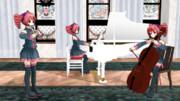 【ニコラ・シェドヴィル】ソナタ「忠実な羊飼い」2番ハ長調【重音テト】バロック演奏1