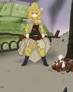 赤軍スナイパーと化したAZS姉貴.RO2