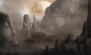 火星の遺跡
