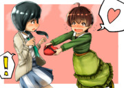 絵麻×久乃木バレンタイン
