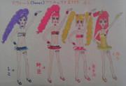 スウィート(Sweet)プリキュア!1985:4人