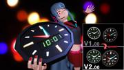 【MMD】粗製クロック V2.00【更新しました】