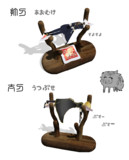 【MMD刀剣乱舞】打刀と太刀