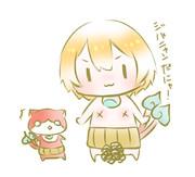 りんちゃん×ジバニャン