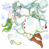❅*.雪ミク.*❅