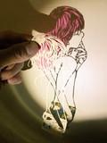 切り絵『色欲の罪 ゴウセル』