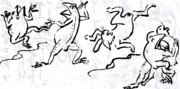 鳥獣人物戯画