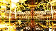 【MMDステージ配布】黄金の宮殿 Q7【AL対応スカイドーム】