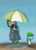 雨の日の ISIS ちゃん