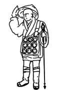 僧侶の旅装