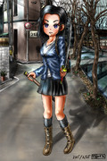 カゴメ(刀少女 その2)