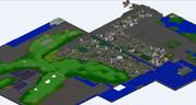 【Minecraft】 現代風都市【全体マップ】