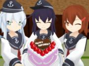暁 響 雷「誕生日おめでとう!」