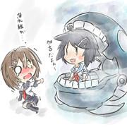 潜水艦!?