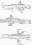 歴代地球防衛軍主力戦艦<Part1>