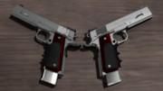 【MMD】M1911カスタム LightBringer【モデル配布】