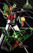 銀河疾風サスライガー:MMDロボットアニメセレクション.60