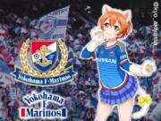 横浜F・マリノス(15H) x 星空凛(ラブライブ!)