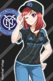 ニューヨークシティFC(14/15A) x 西木野真姫(ラブライブ!)