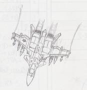 落書き5:架空戦闘機Su-44