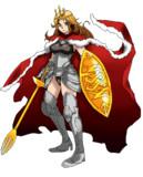 キャラデ04「女騎士」