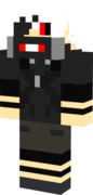 【Minecraft】スキン 「白金木 アオギリver マスク有」東京喰種√A