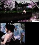水辺の桜-1