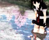 水辺の桜-2