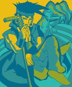 五色で描いたンドゥール