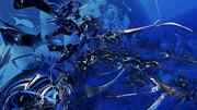 【MMDステージ配布】水中の残骸 S8【スカイドーム】