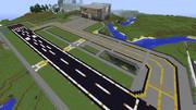 【Minecraft】空港 - 滑走路と誘導路