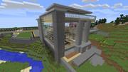 【Minecraft】空港 - 外観その1(途中)
