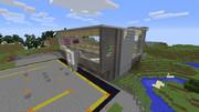 【Minecraft】空港 - 外観その2(途中)