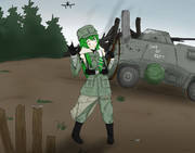 ドイツ軍狙撃手PSR姉貴.CoH2