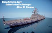 【minecraft】フレッチャー級 アレン・M・サムナー【ミサイル駆逐艦】