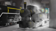 【MMD】B20形10号蒸気機関車【配布】