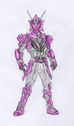 オリジナル/紫の敵戦士