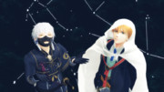 【MMD】 山姥切国広と鳴狐で 星を見上げて 【刀剣乱舞】