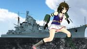 重巡「摩耶」(艦船モデル)配布します