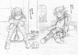鈴谷と磯波のスケベ絵描きました