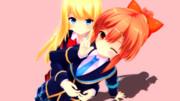 柑橘系の2人
