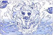 水遊びほっぽちゃん