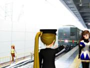 去り行く列車(トワイライトエクスプレス 其の弐)