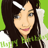 有安杏果さん。お誕生日今年もおめでとう!