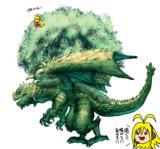 アレンジ例④フォレストドラゴン