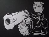 【切り絵】鋼の錬金術師 リザ・ホークアイ