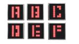 【MMD】デジタルな数字表示機【追加】