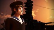 【MMD】扶桑と水兵【「陸!海!空!」】