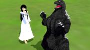 少し昔の話~貞子さんとゴジラの出会い~